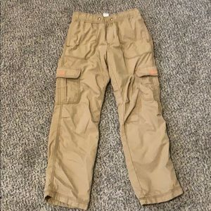 Boys cargo pants - lined